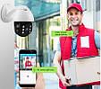 Купольна IP камера відеоспостереження UKC CAD 19HS 360/90 2.0MP Wi-Fi комплект відеонагляду (видеонаблюдение), фото 6