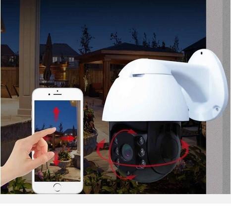 Купольна IP камера відеоспостереження UKC CAD 19HS 360/90 2.0MP Wi-Fi комплект відеонагляду (видеонаблюдение)