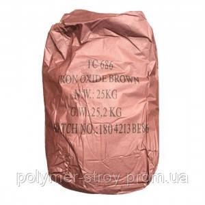 Пігмент для бетону.Tongchem Коричневий ТЗ 686 (Гонконг) ОРИГІНАЛ!