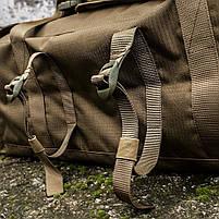 "Баул-рюкзак армейский 80л. ""Кочевник"" COYOTE, фото 8"