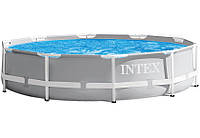 Круглый Каркасный Бассейн Prism Frame Pool Intex, фото 1
