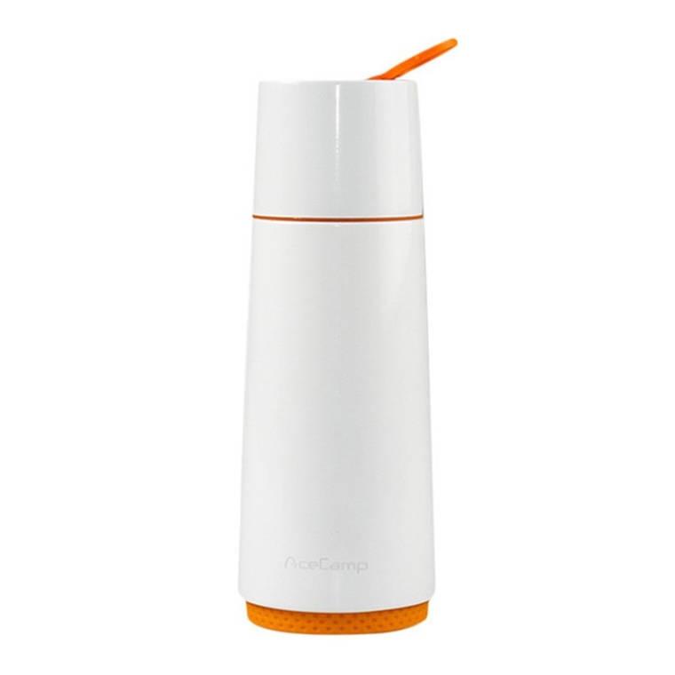 Термос AceCamp SS Vacuum Bottle 370ml White, фото 2