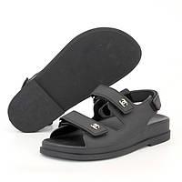Женские сандалии в стиле Chanel Dad Sandals, черный, Китай