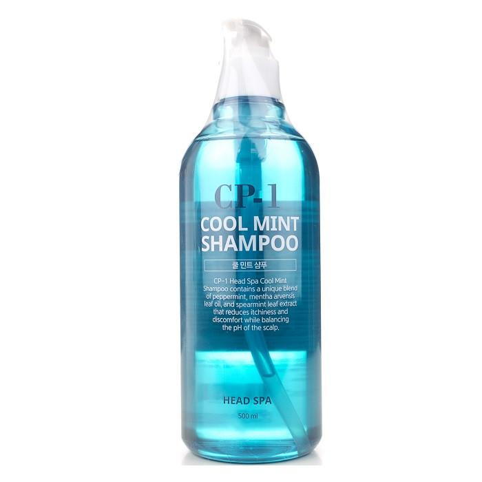 Освежающий шампунь для волос Esthetic House CP-1 Cool Mint Shampoo, 500 мл