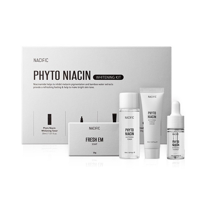 Набор осветляющих средств с ниацином NACIFIC [Miniature] Phyto Niacin Whitening Kit