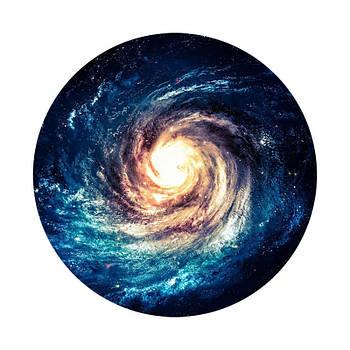 Держатель для телефона круглый (Glass) Космос 3