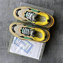 Женские кроссовки Balenciaga Triple S Beige/Green/Yellow, фото 6