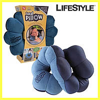 Подушка для путешествий,  Подушка трансформер для путешествий As Seen ON TV Total Pillow
