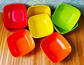 Набір посуду   Миска з мелемина   Набір тарілок, фото 2