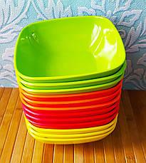 Набір посуду   Миска з мелемина   Набір тарілок, фото 3