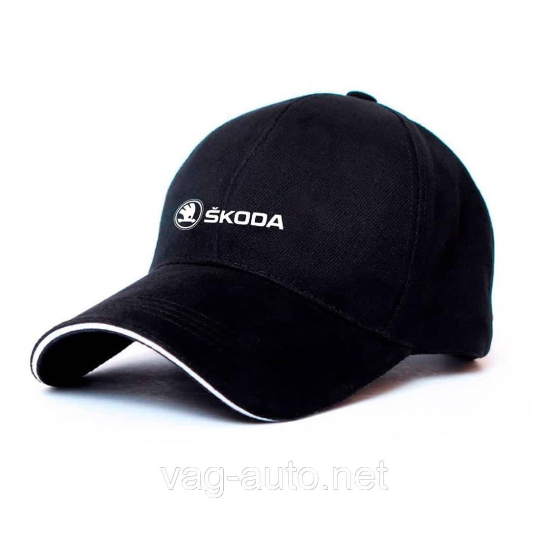 Кепка Skoda чорна