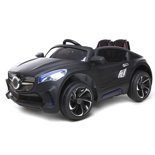 Детский Электромобиль Mercedes M 2702 черный матовый, колеса EVA, пульт bluetooth