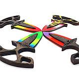Дерев'яний тичкової ніж з гри Counter Strike ножі кс го точкових іграшкові, фото 4