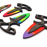 Дерев'яний тичкової ніж з гри Counter Strike ножі кс го точкових іграшкові, фото 8