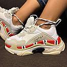 Женские кроссовки Balenciaga Triple S x Gucci, фото 8