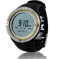 Часы спортивные FoxGuider FX800 для туризма (компас, альтиметр, барометр...). Водозащита 3АТМ
