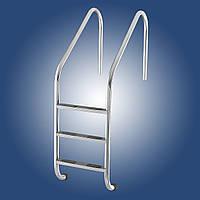 Лестница в бассейн Lux (Standard), 3 ст., AISI 304