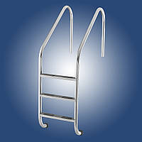 Лестница в бассейн Lux (Standard), 4 ст., AISI 304
