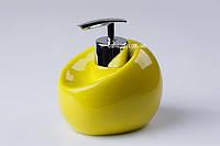 Дозатор для жидкого мыла настольный Нора зеленый