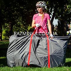 Чехол для велосипеда 170*90см с карманом для колеса Ø26-29