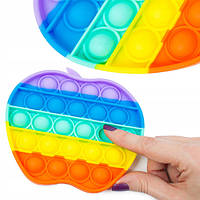 Игра Pop it,Simple Dimple сенсорная антистресс игрушка пупырка Поп Ит, Симпл Димпл силиконовая