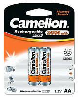 Аккумулятор Camelion AA (R6) 2000mAh NiMH 2шт