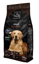 Корм для дорослих собак Rex (Рекс) Natural Range Беззерновой з куркою, 14 кг