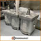 Гидромотор шестеренный GM 17K, фото 2