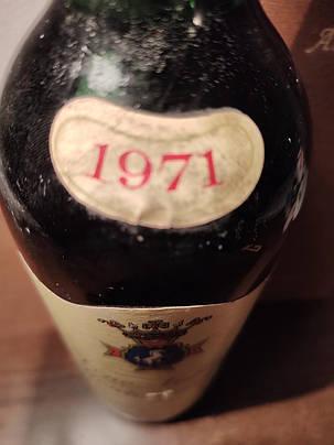 Вино 1971 року Nobile di Montepulciano Італія вінтаж, фото 2