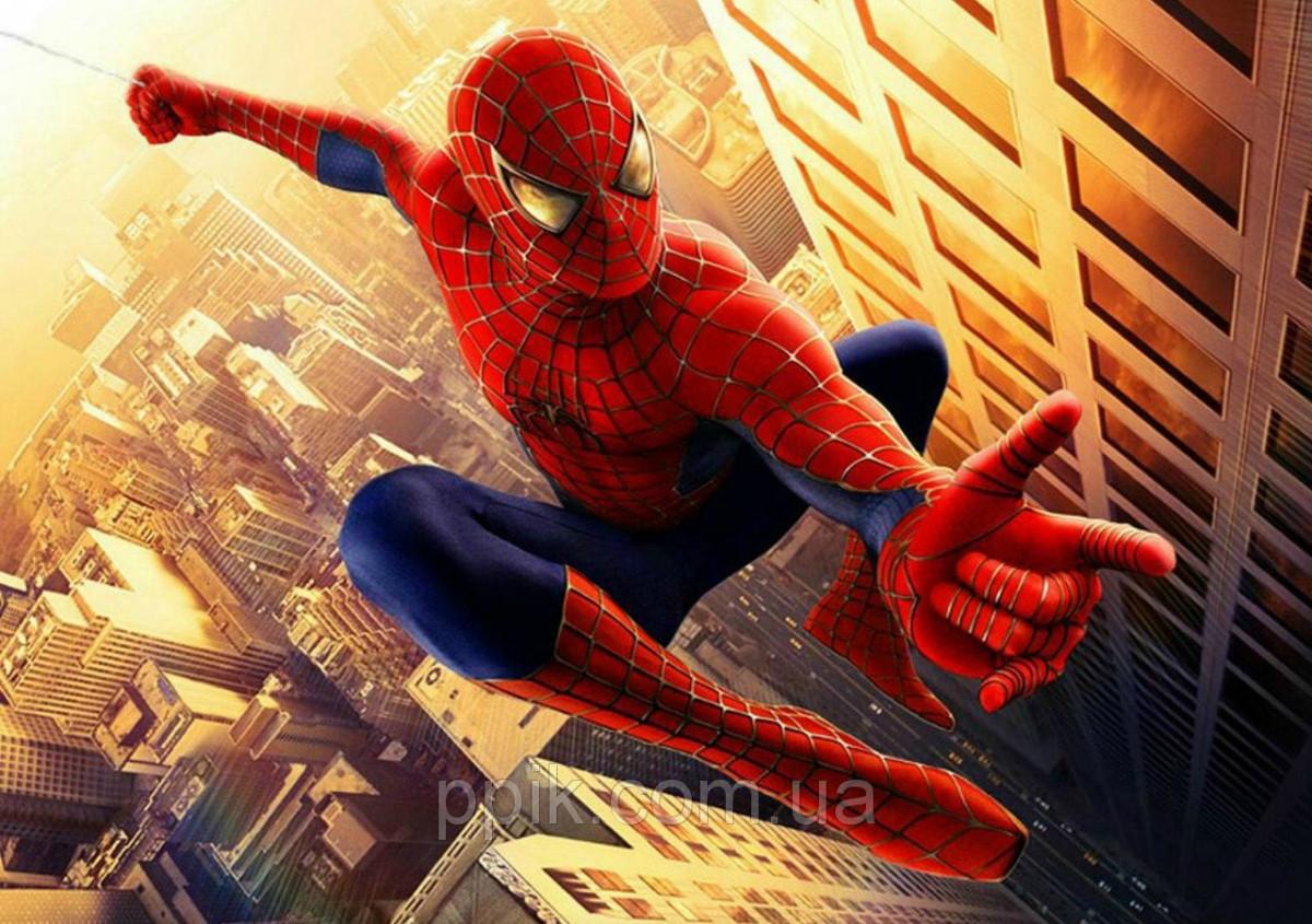 Вафельна картинка Людина Павук 4