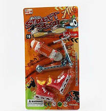 """Пальчикова гра """"Streey Sesh"""" 3 виду транспорту, на аркуші 012-A7"""