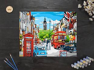 """Картина по номерам """"Символы Лондона"""" 40х50 см"""
