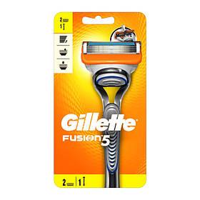 Мужской станок Gillette Fusion 5 (2 кассеты) 01653