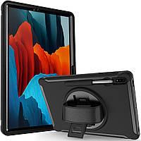 Чехол Rotating Belt Case для Samsung Galaxy Tab S7 Plus 12.4 T970 / T975 Black