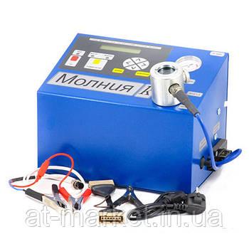 Прилад для чищення свічок запалювання і комутаторів Блискавка-ДО МОЛН220К