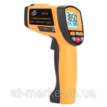 Лазерний безконтактний цифровий пірометр 200-1850°C BENETECH GM1850