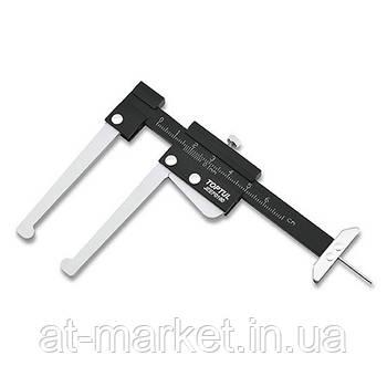 Штангенциркуль для дисків та шин TOPTUL JEEF0160