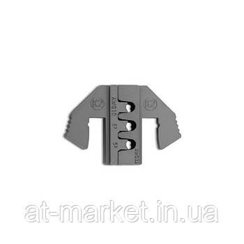 Сменные губки для клещей обжимки клемм (тип K2) TOPTUL DLAK2012