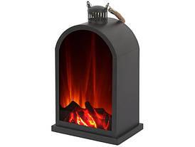 Фонарь / настольная лампа El Fuego со светодиодной подсветкой - эффект пламени AY 549