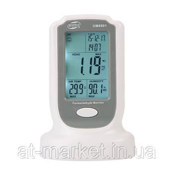 Газоаналізатор формальдегід (HCHO, 0-50°C, 10-90%) BENETECH GM8801