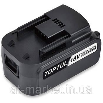 Акумулятор для гайковерта 18V TOPTUL KALD0302E