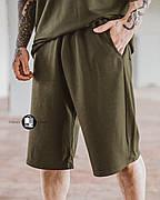 Мужские летние оверсайз шорты Player Oversize Khaki цвета хаки
