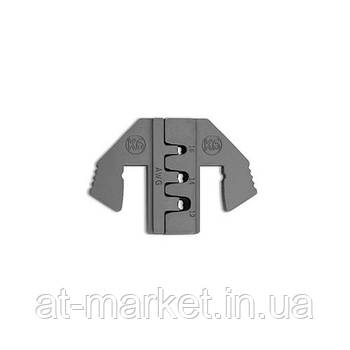 Сменные губки для клещей обжимки клемм (тип K6) TOPTUL DLAK6012