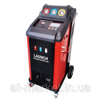 Установка для заправки автомобильных кондиционеров R134a или R1234yf (автоматическая) LAUNCH VALUE-500PLUS