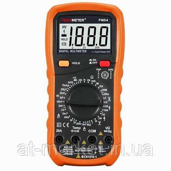 Професійний мультиметр з термопарою PROTESTER PM64
