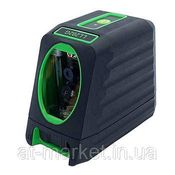 Лазерный нивелир, 2 линии, 1H/1V, 2 лазерных модуля (зеленый луч) PROTESTER LL202G