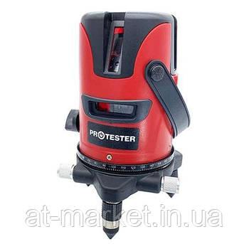 Уровень лазерный нивелир 3 линии 1H/2V (красный луч) PROTESTER LL603R
