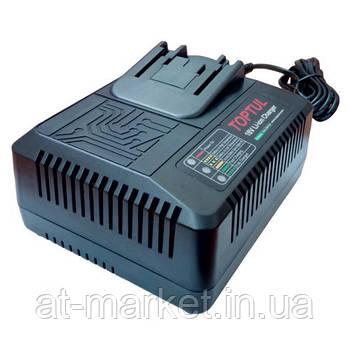 Зарядний пристрій для гайковерта TOPTUL 18V KALD0124E