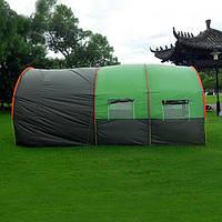 Палатка для кемпинга (туннельный тент + большая беседка)