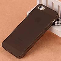 Чехол-накладка силиконовая 0.3mm Samsung A7 black